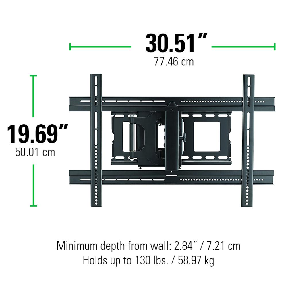 SANUS Classic FullMotion Wall Mount for 3780 TVs